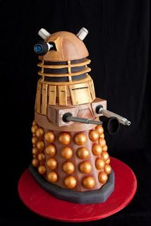 Doctor Who by James: Dalek Cake Photos