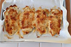 Easy & Delicious Parmesan-crusted Chicken; 4 ingredients-(ckn, mayo, parm. breadcrumbs)