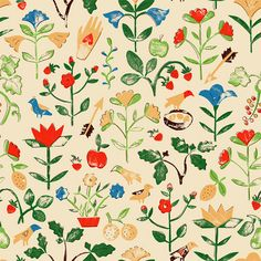 floral and fauna - harrydrawpictures.
