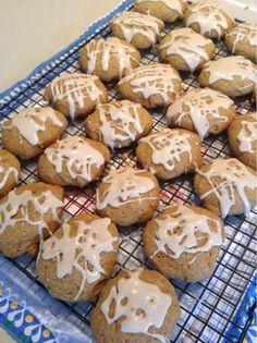 Glazed Pumpkin Cookies