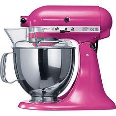 Artisan mixer cranberry - KITCHEN AID - Kitchen electrical - Kitchen - Shop Room - Home & Tech | selfridges.com
