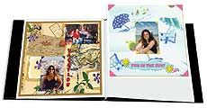 """Pioneer 12x15 White Memory Book Refill Pages Additional pages for the """"Pattern Book"""" I pinned earlier"""