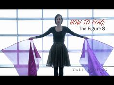 ❥ Worship & Praise Flags Dance (How to Flag | The Figure 8) CALLED TO FLAG Praise banners ft Saralyn - YouTube
