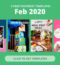 Pinterest Pins Toolkit   Monthly Templates Graphic Design Software, Pinterest Pin, Cool Designs, Templates, Canvas, Business, February, Free, Tela