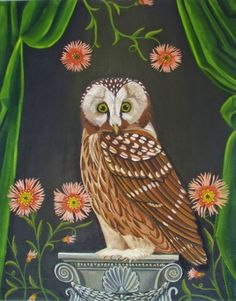The Guardian-New Painting, painting by artist Catherine Nolin
