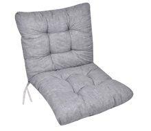 Μαξιλάρι Καρέκλας Με Πλάτη Γκρι Μπλε 50x100