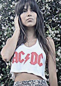 Regata cropped est AC/DC - Regata cropped