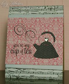 Music and a cuppa, nothing better!