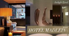 Designhotel Madlein Design Hotel, Hotels, Flat Screen, Blood Plasma, Flatscreen, Dish Display