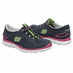 Athletics Skechers Women's In Motion Navy/Multi FamousFootwear.com