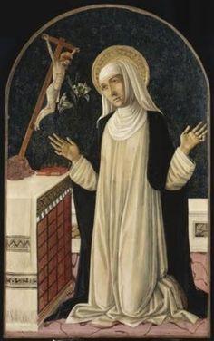 SANTA CATARINA DE SENA: Santa Catarina de Sena, Virgem, Catherine of Siena.