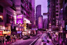 Pink Wan Chai - Hong Kong Photography