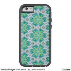 beautiful bright color kaleidoscope tough xtreme iPhone 6 case