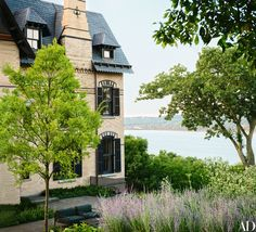 Built in 1874, Niederhurst overlooks the Hudson River in Snedens Landing, New York. Designer Sara Story has revived the historic house with the help of architect Dirk Denison.