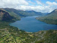 Vista del lago Gutierrez- Bariloche - Argentina