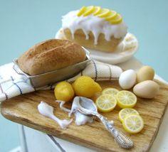 Summer Lemon Cake Preparation - 1\/12 Miniature
