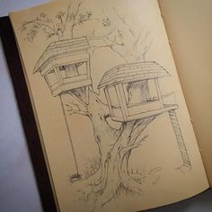 For #sketchwars this week. A classic #treehouse in my semi private sketch/work book#sketchaday#sketch#innovation#classic#love#architecture#passion#art#artist#future#industrialdesign#industrialdesigner#productdesign#hardwork#treehousesensation#fun#illustration#conceptart#engineer by jonosborneidsa