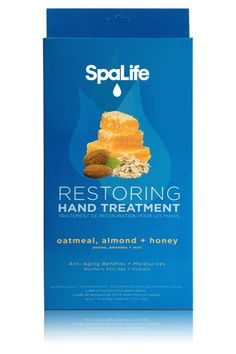 Restoring Hand Treatment - Oatmeal, Almond & Honey