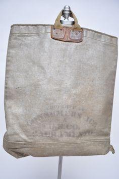 Compagnie des glaces Vintage sac énorme poche de par goodbyeheart