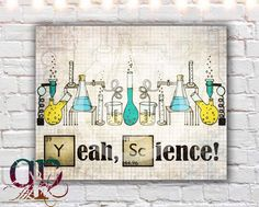 breaking bad quote, yeah science, jesse pinkman quote, printable art, breaking bad digital download, science poster by QuotablePrintables on Etsy https://www.etsy.com/listing/173991042/breaking-bad-quote-yeah-science-jesse