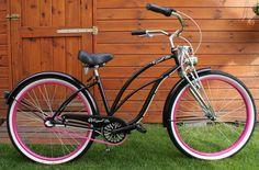 Rower cruiser Lady Springer #bike #cruiser #beachbike #beachcruiser #royalbi #rower #miejski www.RoyalBi.pl