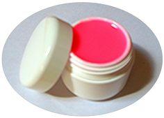 GEL UV ONGLES,néon pink, une couleur éclatante, lumineuse.Convient aussi bien en french que pour couvrir l'intégralité de l'ongle
