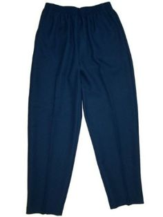 Alfred Dunner Fall Classics Missy ElasticWaist Pants Cloud Blue 8 S Alfred Dunner. $21.99