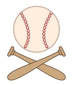free printable baseball clip art images inch circle punch or rh pinterest com Free Baseball Clip Art Black and White Free Baseball Clip Art Black and White