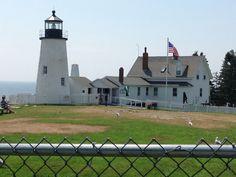 Pemaquid  Lighthouse. Maine