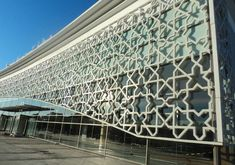 Rabat-Salé Airport, Morocco  Working with architects  Innovation & Construction: Lafarge