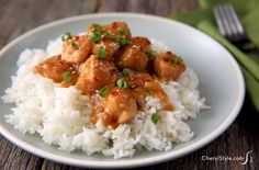 Forget take-out! This recipe is a yummy and healthier way to make sesame orange chicken - CherylStyle