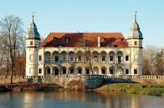 Renaissance-Baroque palace, Katy Wroclawskie, Lower Silesia, Poland.