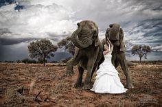 Von meinem letzten Brautshooting in Afrika ;-).