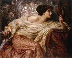 "oldpainting: "" Sir Francis Bernard Dicksee KCVO PRA (London 27 November 1853 – 17 October was an English Victorian painter and illustrator. Click image for 1000 x 788 size. Sir Frank Dicksee, The Mirror, "" John William Waterhouse, John William Godward, Frank Dicksee, Dante Gabriel Rossetti, Victorian Paintings, Victorian Art, European Paintings, Belle Epoque, Pre Raphaelite Paintings"