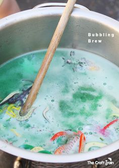 Bubbling Brew science and pretend play fun