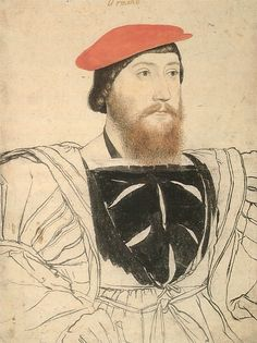 Thomas Boleyn, 1st Earl of Wiltshire by Hans Holbein, c.1530-35. (The Royal Collection)