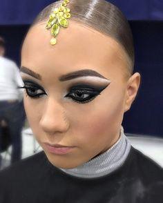 Hairstyle and makeup by me✨ @artecreo #artecreo #hairstyle  #dance #ballroomdance #прическа #бальные - margarita_profmuah