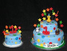 colorfull party birthday cake1 1st Birthday Cake Ideas
