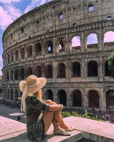 @ʟɪɴɴʀᴏsᴇɴs ᴏɴ ɪɴsᴛᴀɢʀᴀᴍ & ᴘɪɴᴛᴇʀᴇsᴛ ♡☼☽ ( Colosseum, Rome)