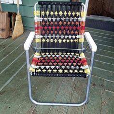 Home Depot Adirondack Chairs Referral: 5414030152 Chair Repair, Macrame Chairs, Folding Camping Chairs, Diy Projects Cans, Chair Pictures, Woven Chair, Patterned Chair, Plastic Adirondack Chairs, Lawn Chairs