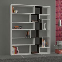 Modern Furniture Deals, Free Delivery From Affordable Furniture, Furniture Deals, Modern Furniture, Furniture Design, Bookcase Shelves, Shelving, Bookcase White, Bookcases, Contemporary Bookcase