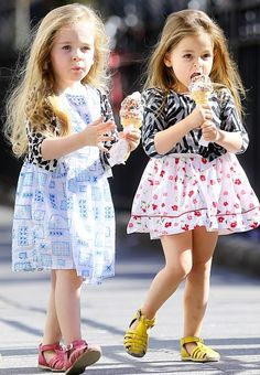 SJP's twin cuties