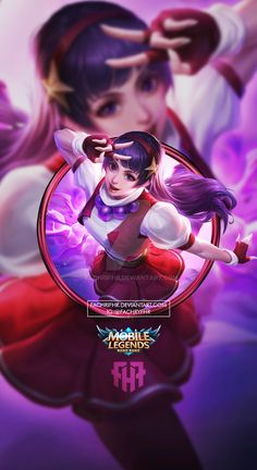 Wallpaper Phone Guinevere KOF Athena Asamiya by FachriFHR on DeviantArt Mobile Wallpaper Android, Mobile Legend Wallpaper, Hero Wallpaper, Couple Wallpaper, Cartoon Wallpaper, Bruno Mobile Legends, Miya Mobile Legends, Wallpaper Dekstop, Homescreen Wallpaper