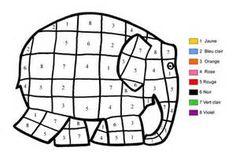Imprimer le coloriage : Chiffres-et-formes - Coloriages-magiques numéro 576031