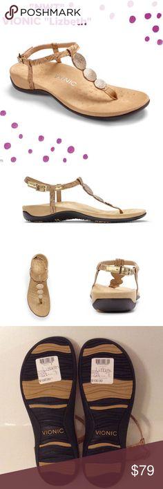 """NWT VIONIC """"Lizbeth"""" Sandals Plz read description in 4th pic. Awesome  Vionic Shoes Sandals"""
