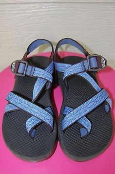 7c2c1e77cebe Chaco Z2 Yampa Blue Unaweep Sandals Women Size 7 Wide Strappy Colorado Blue  Chacos