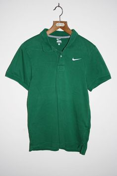 Nike Better World Polo Shirt Size S Green Fashion Designer Cotton Sport Fitness