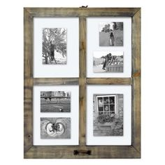 4 Opening Windowpane Collage Frame -Threshold™