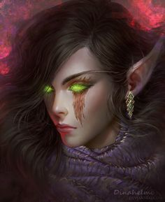 Asmodee Sunwhisper : commission by DenaHelmi on DeviantArt