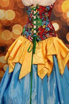 Sunshine Yellow Fairy Skirt by damselinthisdress on Etsy, $29.00
